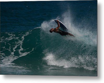 Wrong Side Up Metal Print by Roger Mullenhour