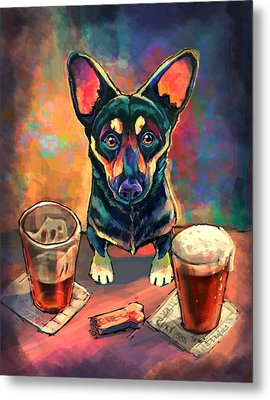 Yappy Hour Metal Print by Sean ODaniels