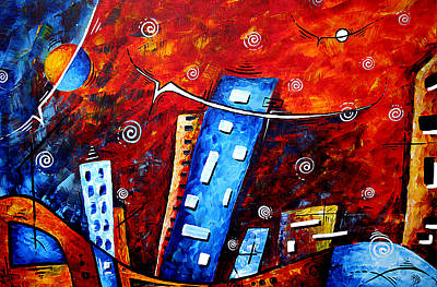 Inner Sanctuary By Madart Poster by Megan Duncanson
