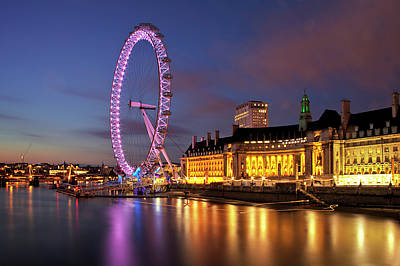 London Eye Poster by Stuart Stevenson photography