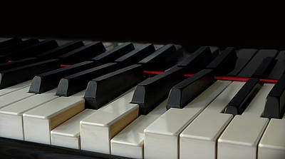 Piano Keyboard Poster by Martin Zalba is a photographer looking for a personal look,