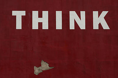 Think Poster by Jim Nelson