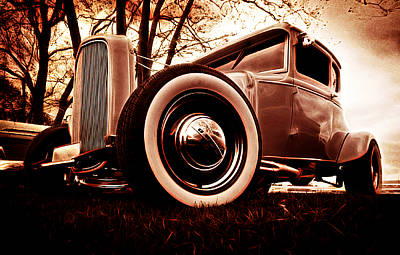 Phil Motography Clark Photograph - 1930 Ford Model A by Phil 'motography' Clark