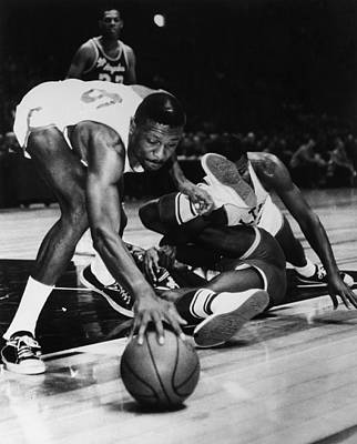 Madison Square Garden Photograph - Bill Russell (1934- ) by Granger