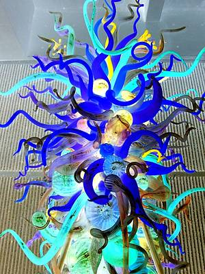 Chihuly Invert Print by Randall Weidner