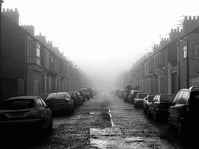 Stockton Photograph - Foggy Terrace by Paul Downing