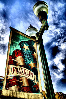 Historic Downtown Franklin Print by Ione Starr
