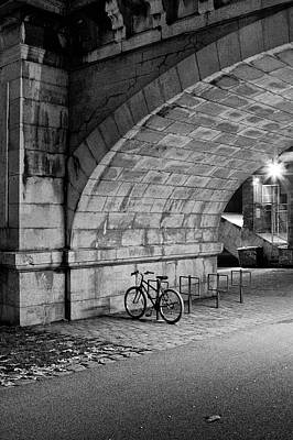 Lyon France Photograph - Le Vélo by I hope you'll like it