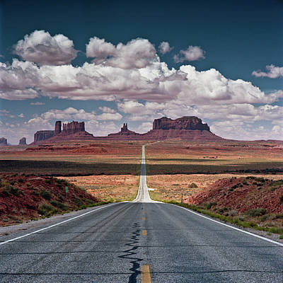 Monument Valley Print by BrusselsImages