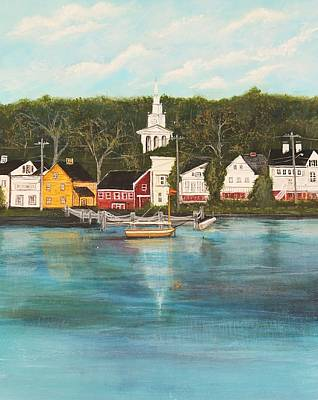 Mystic Seaport Original by Marcia Crispino