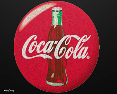 Coca-cola Signs Photograph - Refreshing by Cheryl Young