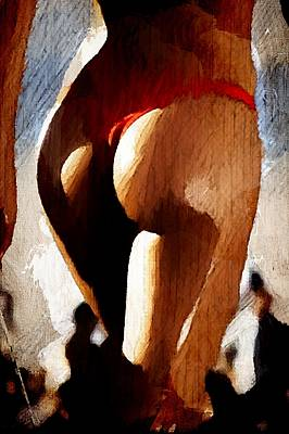 Provocative Digital Art - Sexy B-side by Andrea Barbieri