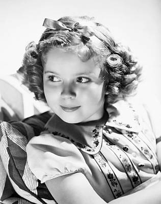 Shirley Temple Photograph - Shirley Temple (1928-  ) by Granger
