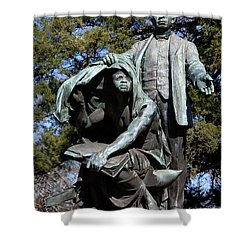 Booker T Washington Shower Curtain by Granger