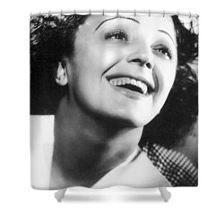 Edith Piaf Shower Curtain by Granger