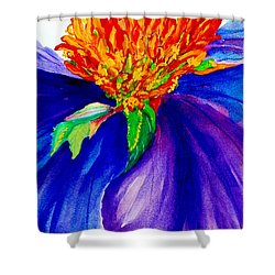 Graceful Curves Shower Curtain by Lil Taylor