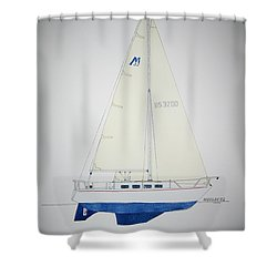 Morgan 32 Shower Curtain by Jeff Lucas