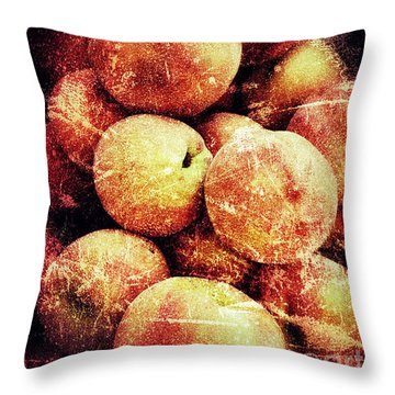 End Of Season Throw Pillow by Jim Moore