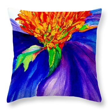 Graceful Curves Throw Pillow by Lil Taylor