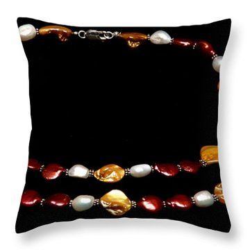 Passion Set Throw Pillow by Yael VanGruber