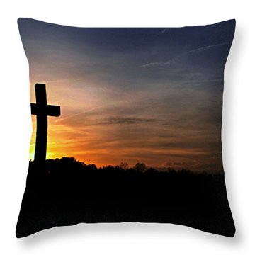 The Heavens Declare The Glory Of God Throw Pillow by Benanne Stiens