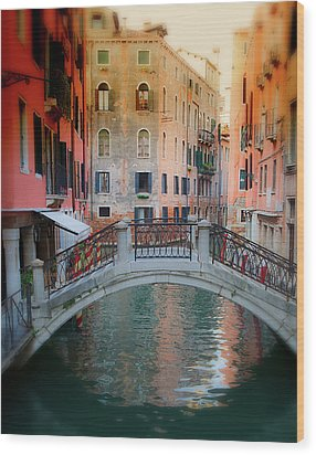 Venice Visions Wood Print by Eggers Photography