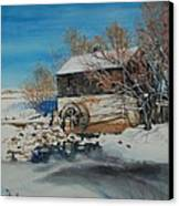 Grants Old Mill Canvas Print by Susan Moore