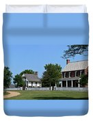 Clover Hill Tavern Appomattox Court House Virginia Duvet Cover by Teresa Mucha