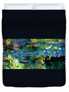 The Abstraction Of Beauty One And Two Duvet Cover by John Lautermilch