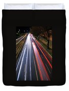 Traffic Lights Duvet Cover by Carlos Caetano