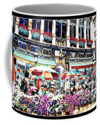 Sunny Day On The Grand Place Coffee Mug by Carol Groenen