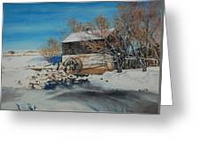 Grants Old Mill Greeting Card by Susan Moore