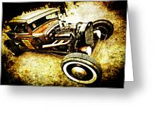 Rusty Rod Greeting Card by Phil 'motography' Clark