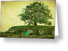 Bagend Homes Greeting Card by Linde Townsend