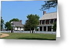 Clover Hill Tavern Appomattox Court House Virginia Greeting Card by Teresa Mucha