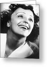 Edith Piaf Greeting Card by Granger
