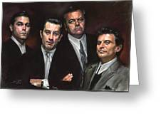Goodfellas Greeting Card by Ylli Haruni