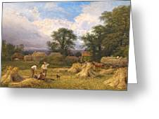 Harvest Time Greeting Card by GV Cole