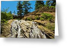 Helen Hunt Falls Greeting Card by Angelina Vick