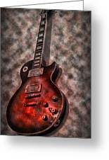 Me And My Les Paul Greeting Card by Bill Cannon