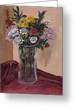 Mother's Day Bouquet Greeting Card by Elizabeth Lane