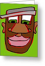 Shaun In Color Greeting Card by Jera Sky