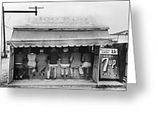 Texas: Luncheonette, 1939 Greeting Card by Granger
