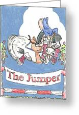 The Jumper Greeting Card by Hope Holland