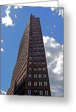 The Kollhoff-tower ...  Greeting Card by Juergen Weiss