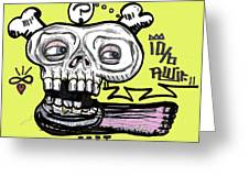 Think On Your Feet Greeting Card by Robert Wolverton Jr
