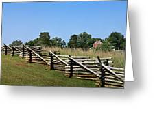 View Of Clover Hill Tavern Appomattox Court House Virginia Greeting Card by Teresa Mucha