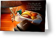 Word Of God Greeting Card by Cindy Wright