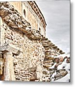 Church Detail Metal Print by Gabriela Insuratelu