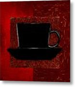Coffee Passion Metal Print by Lourry Legarde